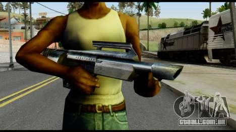 Jackhammer from Max Payne para GTA San Andreas terceira tela