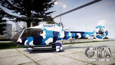 Eurocopter EC130B4 para GTA 4 esquerda vista