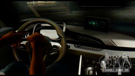BMW I8 2013 para GTA San Andreas traseira esquerda vista