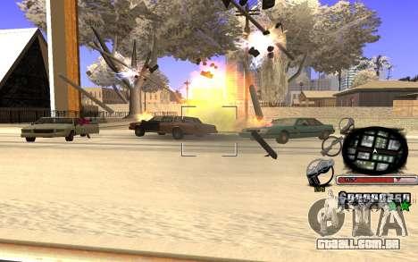 Belo C-HUD para GTA San Andreas segunda tela