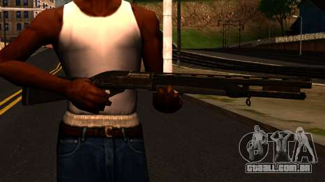 Shotgun from GTA 4 para GTA San Andreas terceira tela