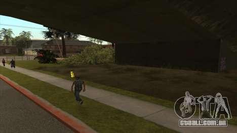 Transporte do caminhão-tanque para GTA San Andreas segunda tela