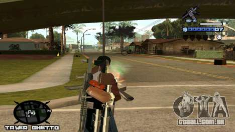 HUD Ghetto Tawer para GTA San Andreas