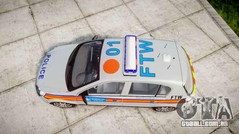 Vauxhall Astra 2010 Police [ELS] Whelen Liberty para GTA 4 vista direita