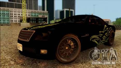 Schyster Fusilade Sport 1.0 (HQLM) para GTA San Andreas vista traseira