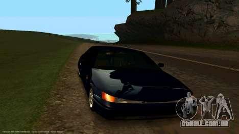 VAZ 21123 Bad Boy para GTA San Andreas vista traseira