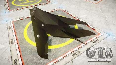 Lockheed F-117 Nighthawk para GTA 4 esquerda vista