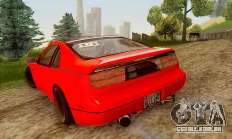 Nissan 300XZ The Rolling para GTA San Andreas esquerda vista