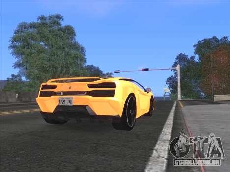 Agradável ColorMod para GTA San Andreas por diante tela