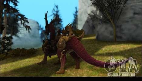 Kirin Dragon (TERA Online) para GTA San Andreas segunda tela