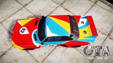 BMW 3.0 CSL Group4 1973 Art para GTA 4 vista direita