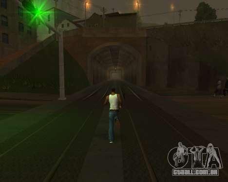 Colormod Dark Low para GTA San Andreas twelth tela