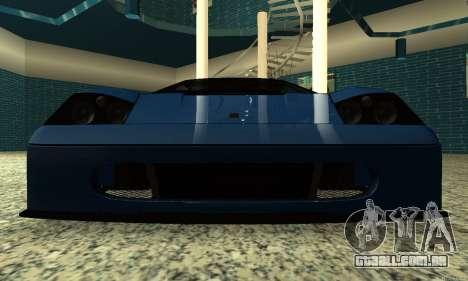 HD Turismo para GTA San Andreas vista traseira
