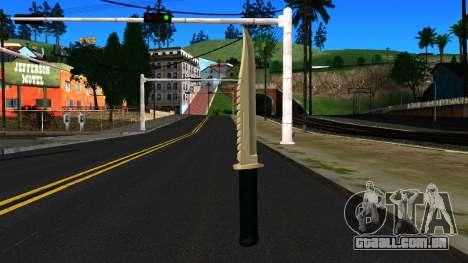 Knife from GTA 4 para GTA San Andreas segunda tela