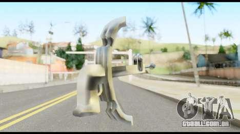 Fear Wilhelm Tell from Metal Gear Solid para GTA San Andreas segunda tela