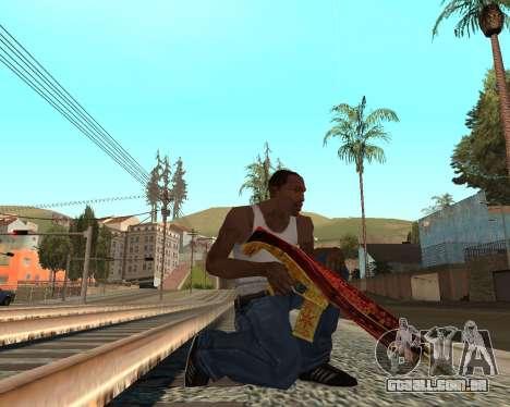 Ano novo weapon pack v2 para GTA San Andreas
