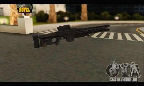 BF4 Final Stand DLC Rorsch Mk-1 para GTA San Andreas segunda tela