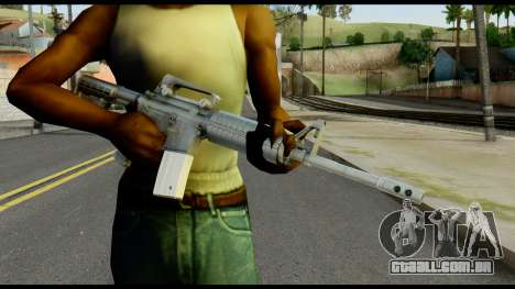 Colt Commando from Max Payne para GTA San Andreas terceira tela