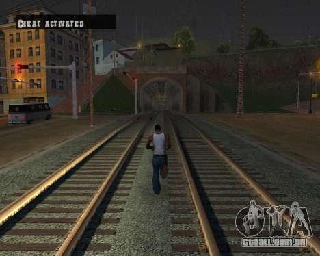 Colormod Dark Low para GTA San Andreas décimo tela