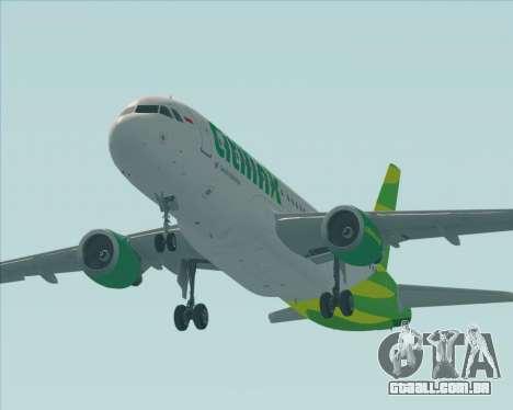 Airbus A320-200 Citilink para o motor de GTA San Andreas