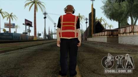 GTA 4 Skin 17 para GTA San Andreas segunda tela