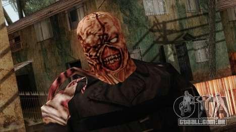 Resident Evil Skin 9 para GTA San Andreas terceira tela