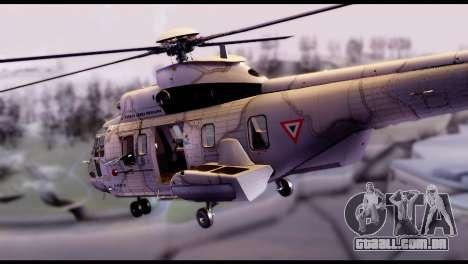 EC-725 Super Cougar para GTA San Andreas
