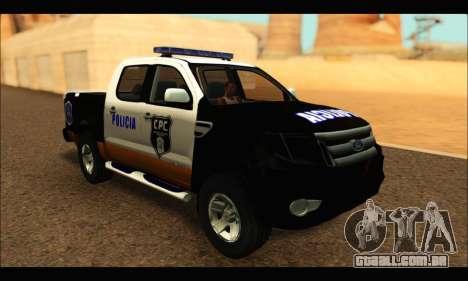Ford Ranger P.B.A 2015 Text3 para GTA San Andreas
