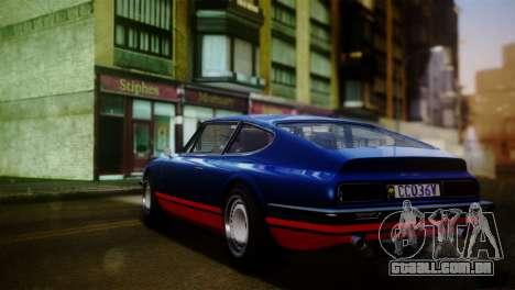GTA 5 Lampadati Pigalle para GTA San Andreas esquerda vista
