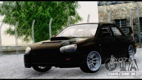 Subaru Impreza Hellaflush 2004 para GTA San Andreas