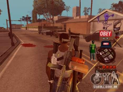 C-HUD Sweet para GTA San Andreas terceira tela