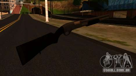 Preto MP-133 Prata para GTA San Andreas segunda tela