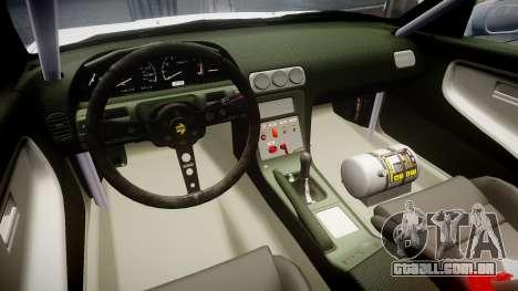 Nissan 240SX Sil80 para GTA 4 vista de volta