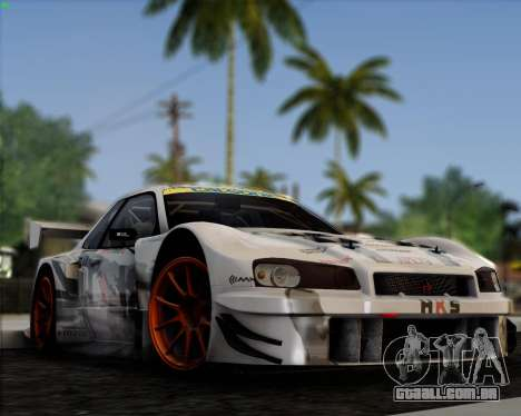 EazyENB para GTA San Andreas quinto tela