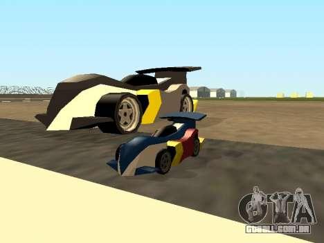 RC Bandit (Automotive) para GTA San Andreas vista superior