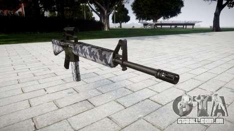 O M16A2 rifle [óptica] sibéria para GTA 4