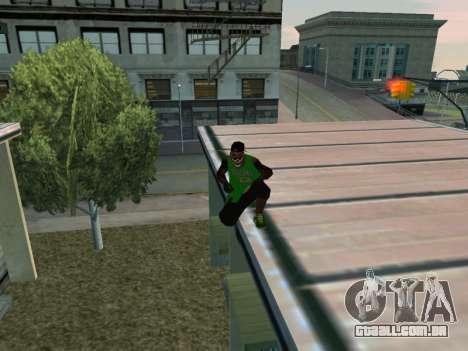 Fam3 Skin para GTA San Andreas quinto tela