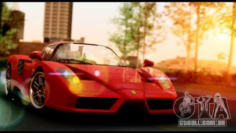 Ferrari Enzo 2002 para GTA San Andreas vista direita