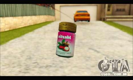 Mastin Good Grenade para GTA San Andreas segunda tela