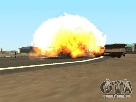 Dynamite para GTA San Andreas terceira tela