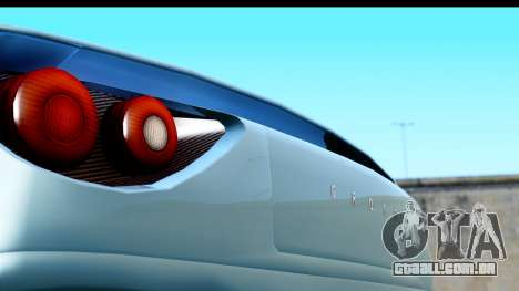 GTA 5 Grotti Carbonizzare v3 (IVF) para GTA San Andreas traseira esquerda vista