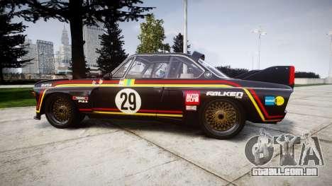 BMW 3.0 CSL Group4 [29] para GTA 4 esquerda vista
