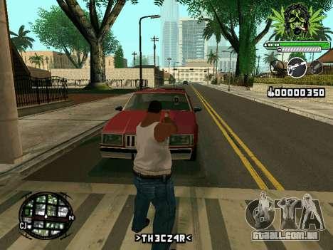 C-HUD Marihaus para GTA San Andreas terceira tela