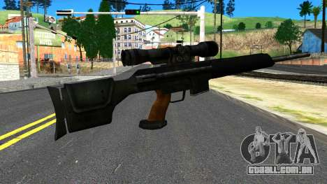 Sniper Rifle from GTA 4 para GTA San Andreas segunda tela