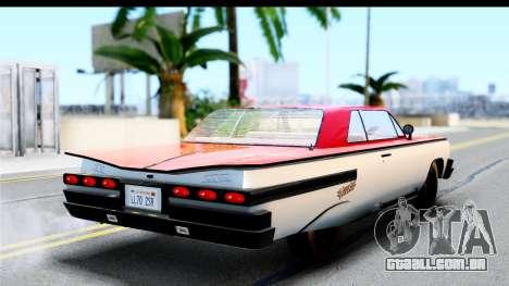 GTA 4 Voodoo para GTA San Andreas esquerda vista