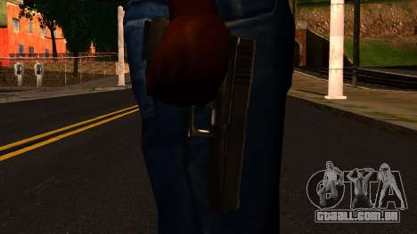 Pistol from GTA 4 para GTA San Andreas terceira tela