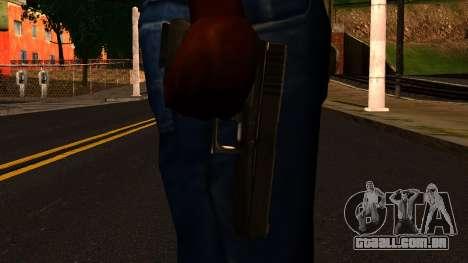 Pistol from GTA 4 para GTA San Andreas terceira tela