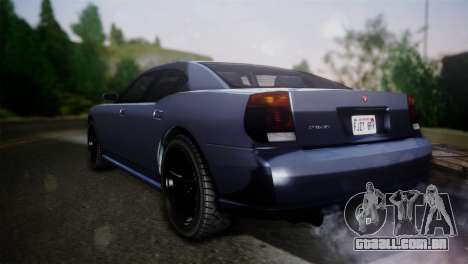 Bravado Buffalo Sedan v1.0 (HQLM) para GTA San Andreas esquerda vista