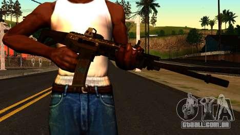 ACW-R from Battlefield 4 para GTA San Andreas terceira tela