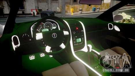 Pontiac GTO 2006 18in wheels para GTA 4 vista interior
